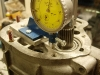 Pomiar podkładek dystansowych do wałka pośredniego   /   Measurement of spacers for the intermediate shaft