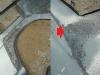 Prawy tylny błotnik jest mocno skorodowany, są dziury  /  The right rear fender is heavily corroded, there are holes