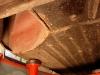 Obszar podłogi za nadkolem będzie wymagał naprawy.  /  The floor behind the wheel should be repaired.