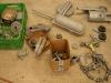 2 partia elementów po piaskowaniu   /  2 part of elements ater sanding