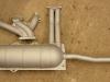 Układ wydechowy pokryty lakierem żaroodpornym   /   Heat-resistant paint