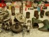Klient przysłał także dyfer i trochę elementów nadwozia do renowacji. Na foto demontażu i po pierwszym myciu.
