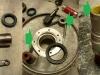 Nowe złożenia uszczelniające, suwaki z nowymi tulejami i zregenerowane gniazdo kalamitki.