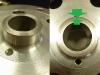 I gotowe. Twarda tuleja cienkościenna (1,5mm) ze stali nierdzewnej pozwoli zastosować simmering zamiast filcu.
