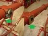 Reperaturki wspawane w ramę. Przylgnie silnika w ramie także trzeba było korygować - wszystkie kostki były krzywo wspawane.