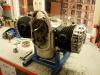 Silnik skompletowany, przedni plaster w spawaniu a głowice przykręcone na sztukę - bo trzeba będzie jeszcze ustawić zapłon.