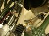 Szczegóły montażu cewki i włącznika stop.