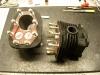 Cylindry po lakierze, nowe śruby i przerobiona śruba kontrolna układu smarowania.