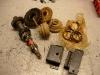 Od Jakuba Malinowskiego otrzymałem zestaw fabrycznie nowych zębatek do skrzyni biegów. A także pozostałe elementy - synchronizatory i poduszki do skrzyni biegów.