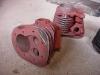 Ponieważ wypiaskowane zostały także cylindry, po wygrzaniu dospawałem brakujący fragment żebra. Po ostygnięciu cylindry zostały obrobione (usunięcie nadlewów, błon itd). Teraz można je oddać do szlifu.