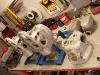 Po kolejnym myciu, skrobaniu, doczyszczaniu, szczotkowaniu i 2 ostatnich myciach - bloki wyglądają już właściwie.