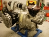 Po lakierowaniu cylindrów można było złożyć silnik w całość.