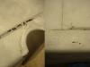 Błotnik tylny jest mocno dziurawy. Perforacja w dość typowych miejscach. Gondola kosza miała poszpachlowane i zalane farbą dziury, miejsca nieumiejętnych napraw, rdzę i wgnioty. Po piaskowaniu widać, że jest w średnim stanie.