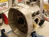Silnik w trakcie montażu.