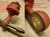 Naprawa łożyskowania sprężyny zgodnie ze schematem już znanym. Foto z innego tematu pokazujące poszczególne etapy pracy.