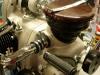 Silnik częściwo złożony.