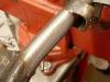 Nowy odbój, bruzdy w rurze spowodowane przez luźny kopniak - napawane i oszlifowane.