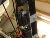 Aby zainstalować wszystkie elementy zapłonu CDI i przerywacz trzeba było wyspawać całą konsolę pod zbiornik paliwa.