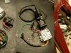 Elementy składowe zapłonu CDI. Aby je zainstalować trzeba wykonać odpowiednią listwę montażową.