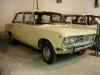 Muzeum Inżynierii w Krakowie. Fiat 125p z pierwszych lat produkcji.